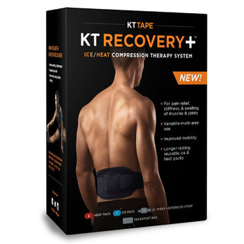 KT Recovery Ice Heat Wrap Compression System from KT Tape