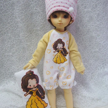 Clearance Sale Super Dollfie Yo SD Yellow Pajamas Set - Belle
