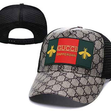 Bee Gucci Nylon Baseball Cap Unisex Hat Summer Gift