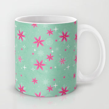 Elsa Frozen Fever Cape pattern Mug by Studiomarshallarts