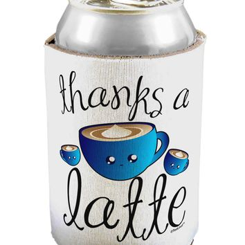 Thanks a Latte - Cute Mug Can / Bottle Insulator Coolers