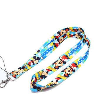 Brand New Disney Mickey Blue 2 Lanyard