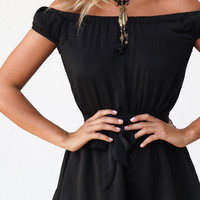Buy Midnight Playsuit Online by SABO SKIRT