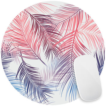 Rainbow Palms Mouse Pad Decal