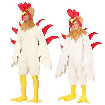 adult or kids chicken costume animal costumes carnival mascot cosplay festival cosplay