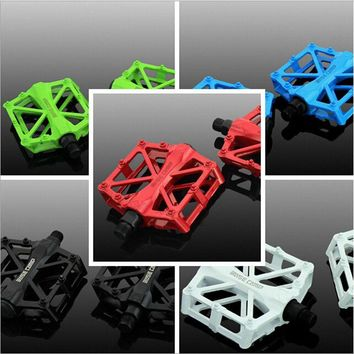 BASECAMP Bicycle Pedals Mountain Bike MTB Road Cycling Alloy Pedal Vintage Bearing BMX Ultra-light Pedal Bike Accessories H5011