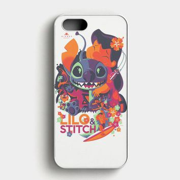 Lilo Stitch iPhone SE Case