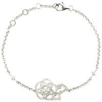Chanel Camelia Brode Diamond Gold Bracelet