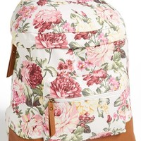 Kendall & Kylie Madden Girl Floral Backpack (Juniors)