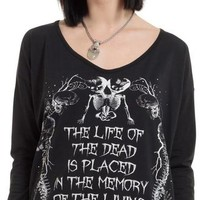 Illustrated Death Fashion | T-SHIRT*