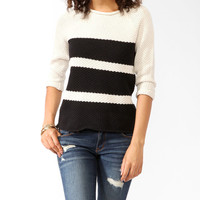 Chunky Colorblocked Sweater
