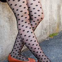 Socks By Sock Dreams  » Socks » Sheer Dot Tights