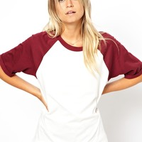 ASOS | ASOS Oversized Baseball T-Shirt at ASOS
