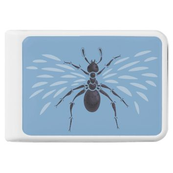 Abstract Flying Ant With Wings Power Bank