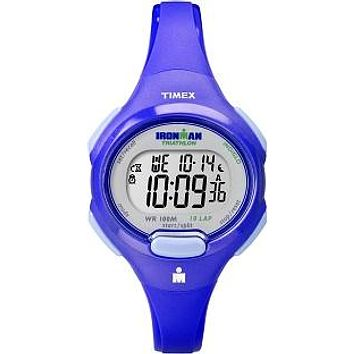 Timex Womens Ironman Blue 0 Lap Sport Watch