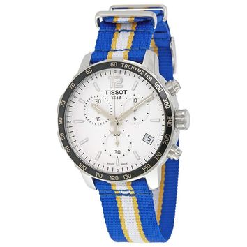 Tissot Quickster Golden State Warriors Chronograph Mens Watch T0954171703715