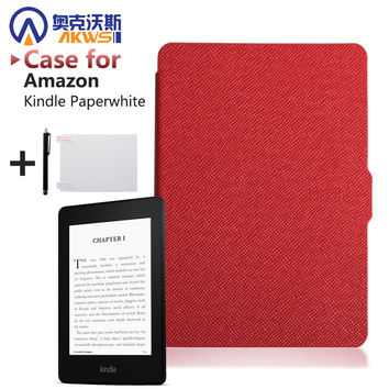 Slim Fashion Cover For Amazon Kindle Paperwhite Case 6'' Ereader