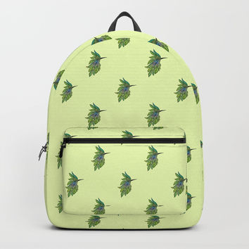 Leafed Birdie Backpacks by Dovia Art