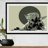 Star Wars Poster Movie Art DJ YODUH Size B