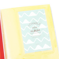Kawaii Photo Album Fujifilm Instax Mini Film Holders Name Card Holder Yellow