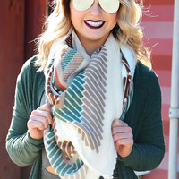 Sweet Escape Blanket Scarf: Multi
