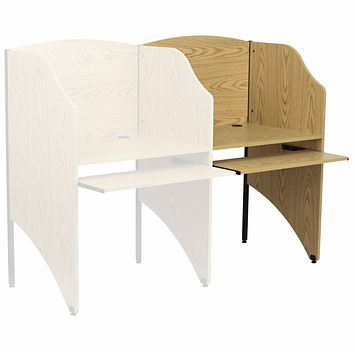 Add-On Study Carrel in Finish