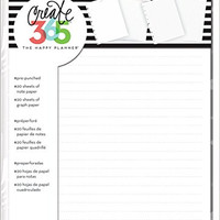 me & my BIG ideas FIL-01 Create 365 The Happy Planner Note and Graph Paper