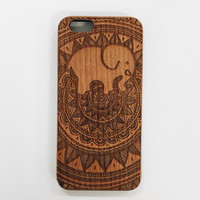 Engraved Cherrywood Ella Phone Case