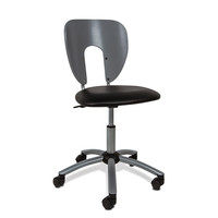 Studio Designs Silver Futura / Vision Chair | Overstock.com Shopping - The Best Deals on Chairs & Stools