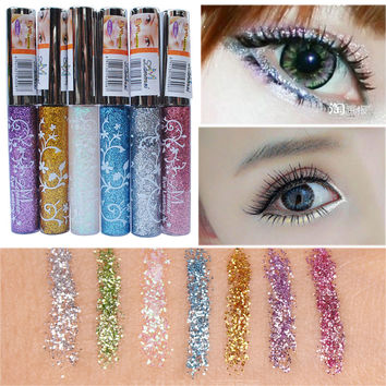 Waterproof Shining Liquid Eyeliner Glitter Eye Pencil