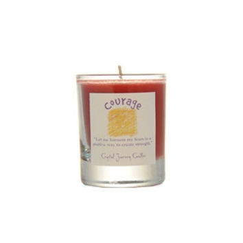 Courage soy votive candle