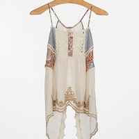 Gimmicks By BKE Pieced Lace Tank Top