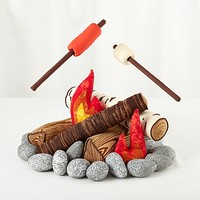 The S'more the Merrier Campfire Set | The Land of Nod