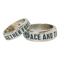 Doctor Who TARDIS His & Hers Ring Set