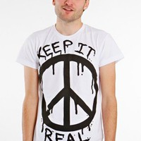 Drop Dead - Keep It Real White - T-Shirt