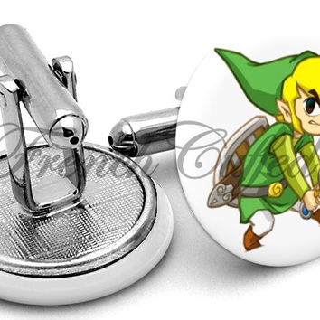 Zelda Link The Legend Cufflinks