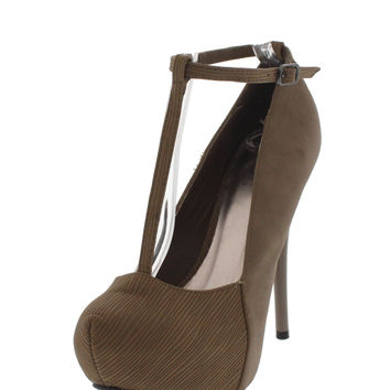 All Natural Stiletto Heels