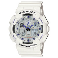 Men's Casio G-Shock White X-Large Analog-Digital Watch - Model: GA1...
