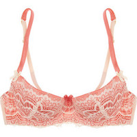 Mimi Holliday by Damaris Bisou Bisou L?Amour lace plunge bra – 60% at THE OUTNET.COM