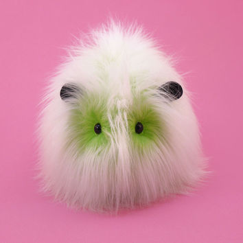 Lime Green Fizz the Guinea Pig Stuffed Animal Plush Toy