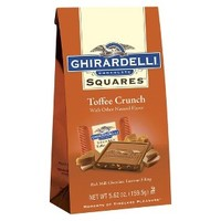 Ghirardelli Toffee Crunch Milk Chocolate Squares 5.62 oz