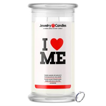 I Love Me Jewelry Love Candle