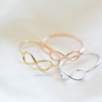 infinity ring,infinite ring,eternity ring,gold infinity ring,rose gold infinity ring,sister infinity ring,infinity jewelry