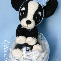 Elfin Thread - Chaco, the Chihuahua Puppy Amigurumi PDF pattern ( Crochet Chihuahua Dog pattern)