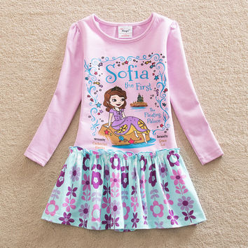 275ca5827 NEAT christmas baby girl clothes sofia the first princess dress