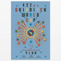 Harry Potter 422nd Quidditch World Cup Event Poster |