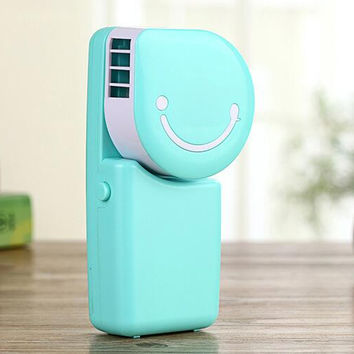 New Summer Mini Air Conditioning Personal Hand-held Cooler Fan