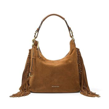 MICHAEL Michael Kors Billy Large Fringe Hobo