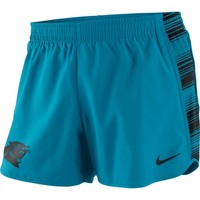 Women's Carolina Panthers Nike Panther Blue Warpspeed Pacer Performance Shorts