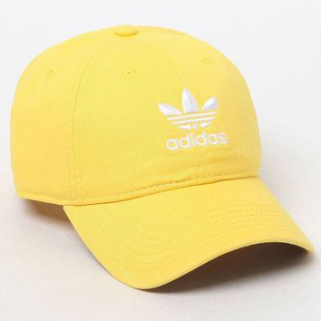 adidas Washed Strapback Dad Hat at PacSun.com
